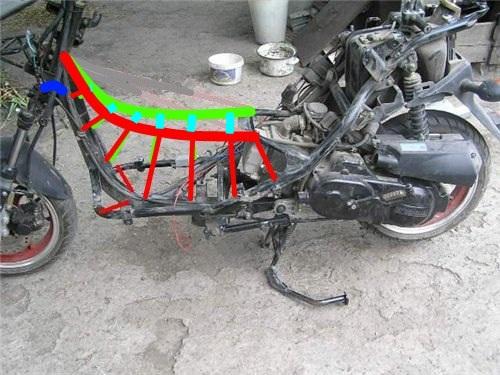 Как самому сделать номер на скутер