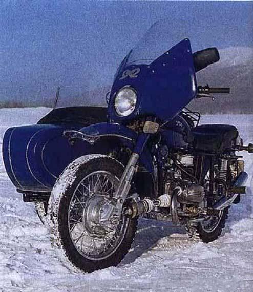 Передний привод на мотоцикл