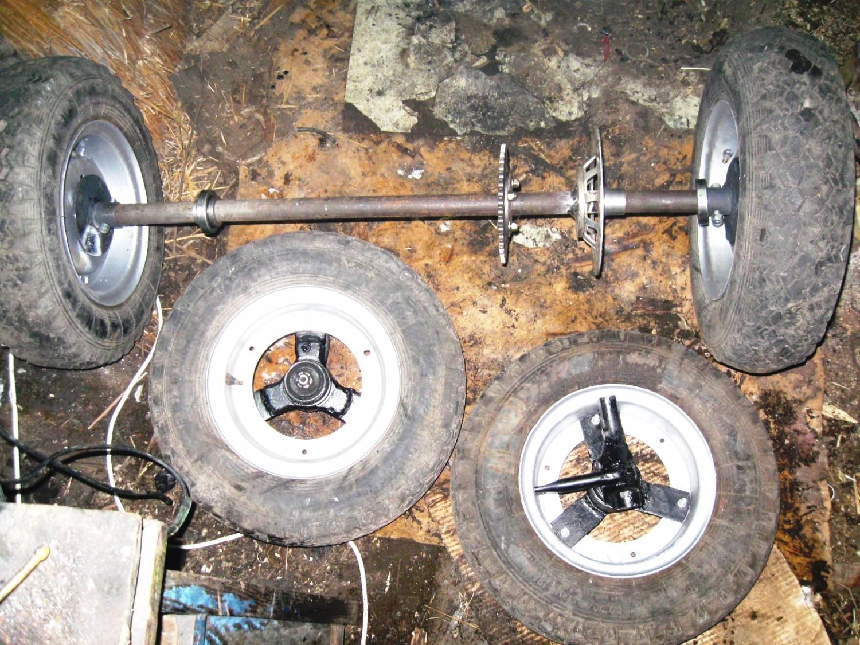Как сделать самодельное колесо